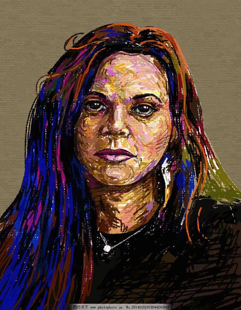 油画 绘画 人物 女性 装饰画 壁画 欧式风景 绘画书法 艺术品
