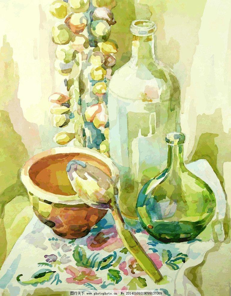 油画 绘画 装饰画 壁画 静物 绘画书法 艺术品 美术绘画 文化艺术