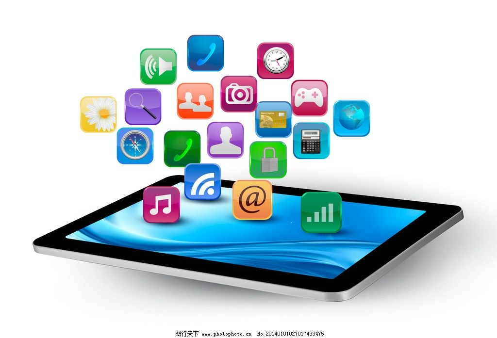 手机 手机功能 手机图标 平板电脑 电脑 娱乐 上网 办公 ipad 数码