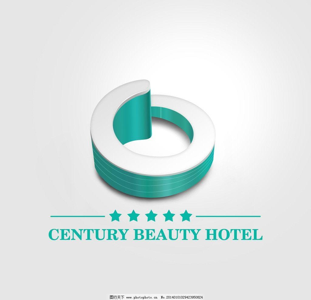 酒店标志设计 酒店 五星级酒店 商标 标志 创意 商标设计 标志设计