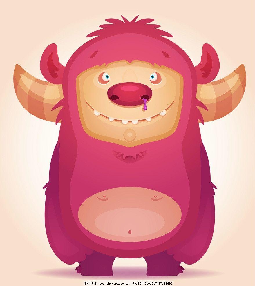 野生动物 卡通设计 情人节 外星生物 动漫设计 卡通形象 手绘动物
