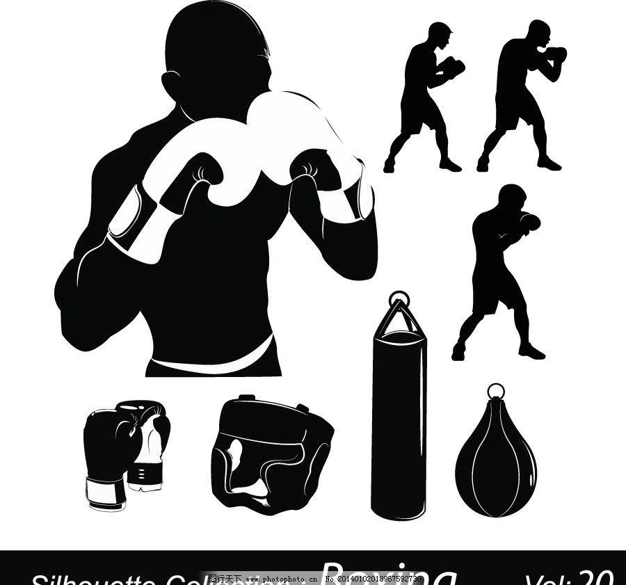 拳击 拳击运动员 搏击 体育广告 强壮男人 运动广告 卡通动物 体育