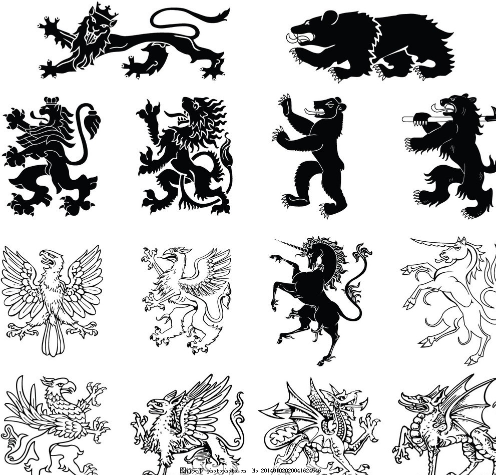 设计图库 标志图标 网页小图标  纹身纹章 纹身纹章图案 纹身 纹章