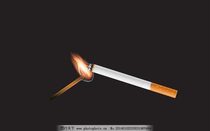 广告设计 广告设计矢量素材 禁止吸烟 矢量素材 手绘 香烟矢量素材