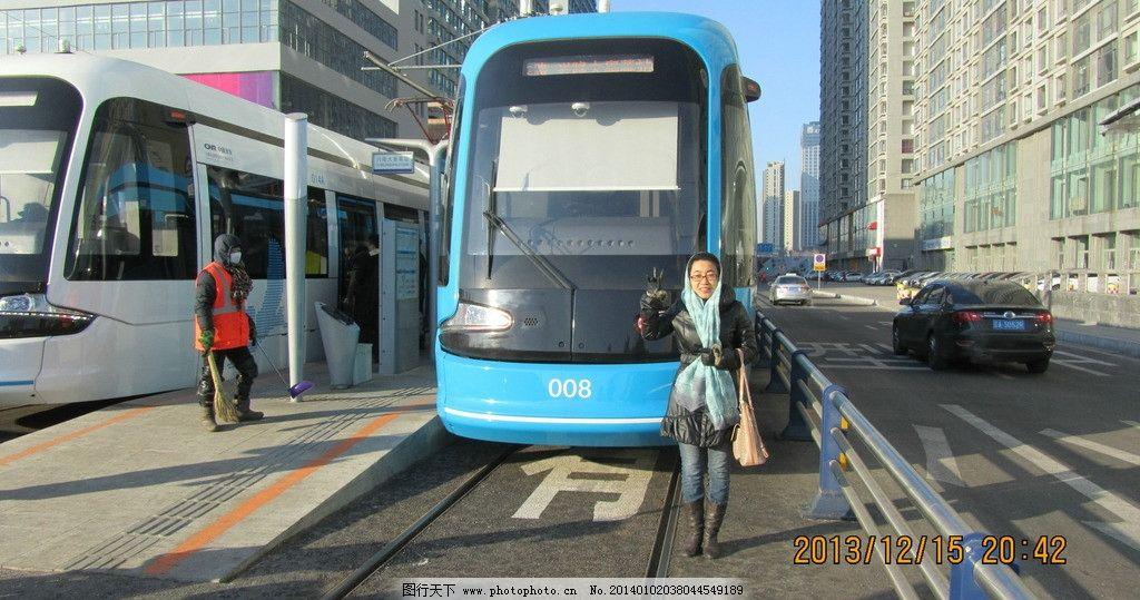 沈阳浑南新区有轨电车图片