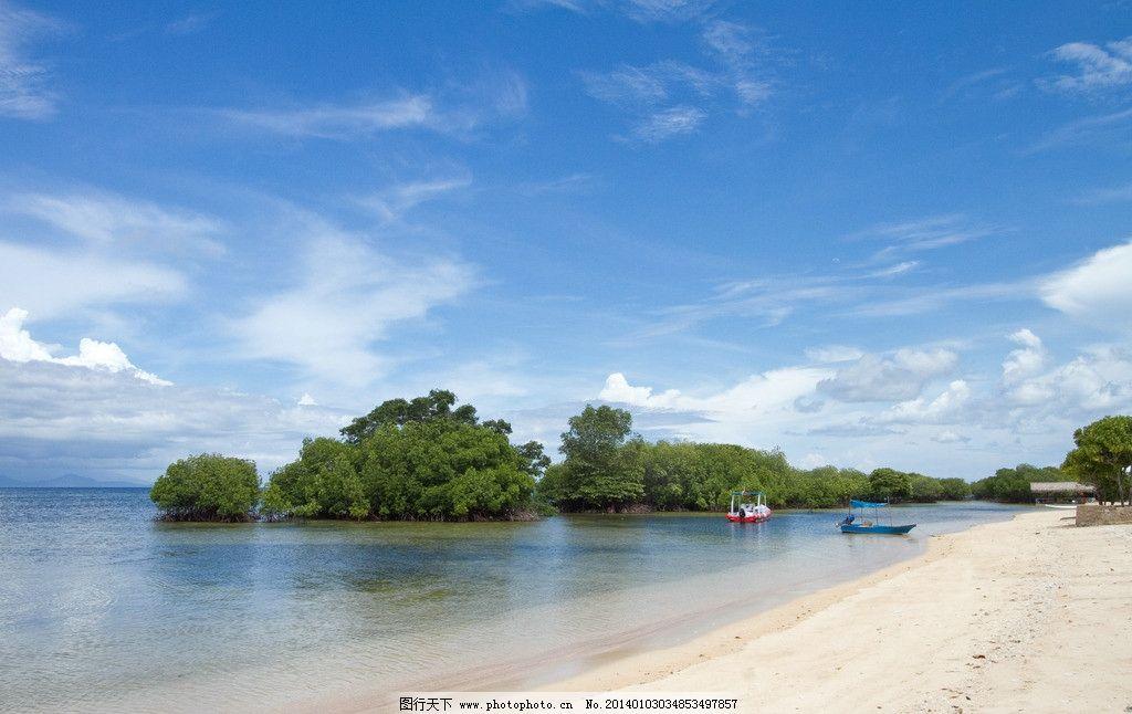 海滩 海景 沙滩 沙粒 大海 大洋 三亚 怪石 海南岛 阳光 蓝天 海天一