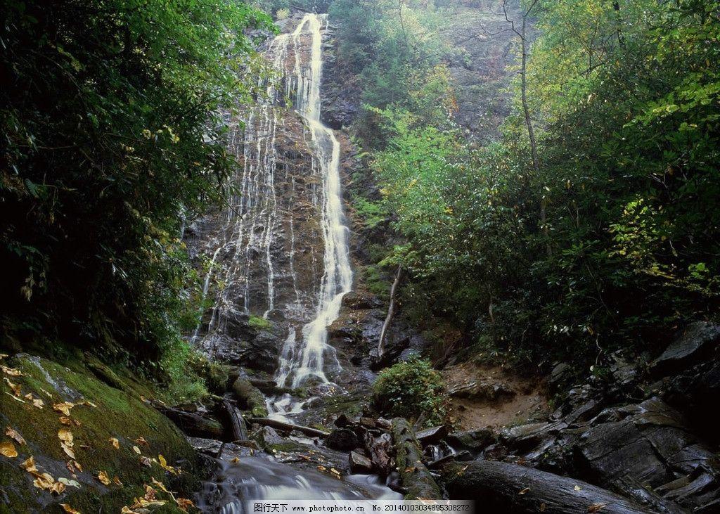 山涧图片_自然风景_自然景观_图行天下图库