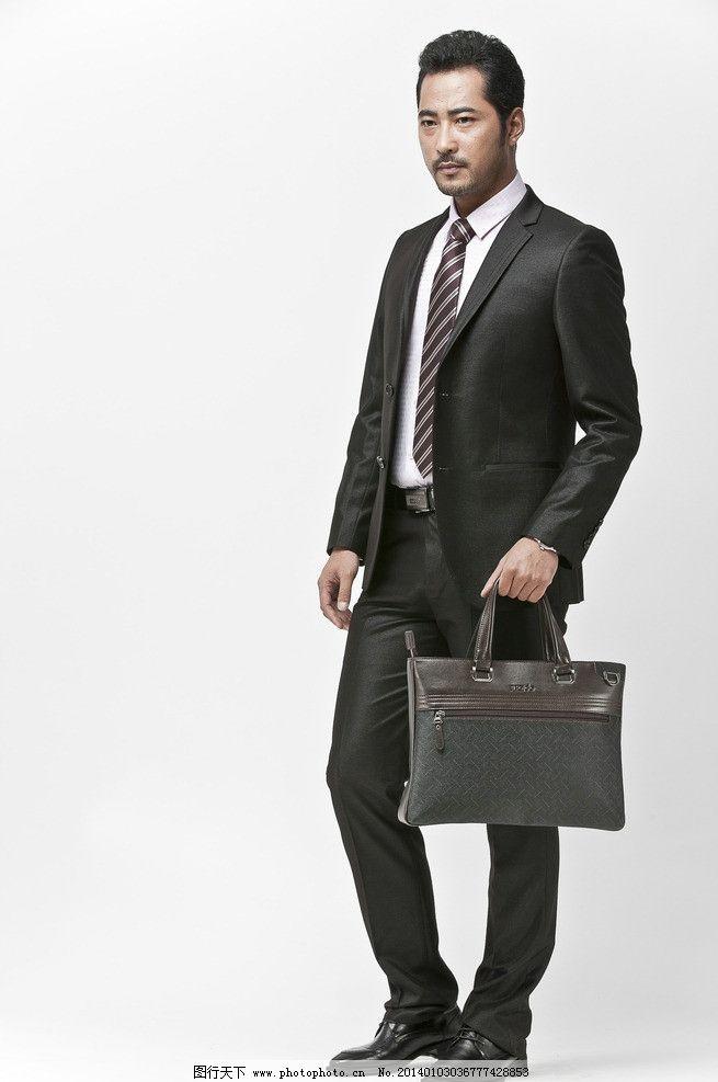 商务男士 男装模特 男模特