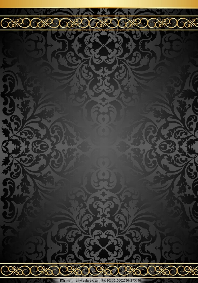 欧式花纹背景 欧式 花纹 欧式花纹 手绘 线条 角花 金色花纹 玫瑰花
