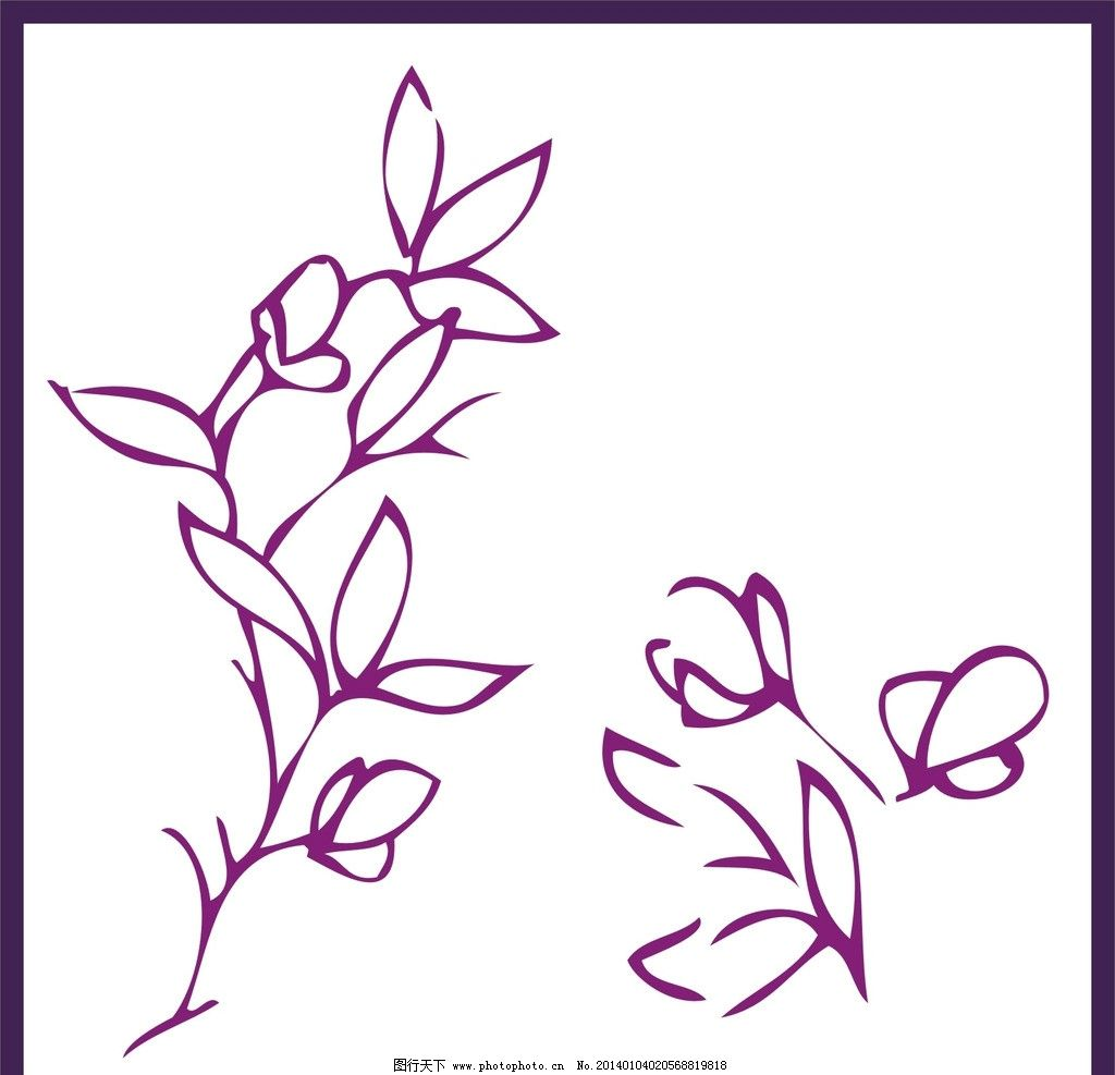 花纹 图案 背景 设计 素材 底纹边框 条纹线条 矢量 cdr