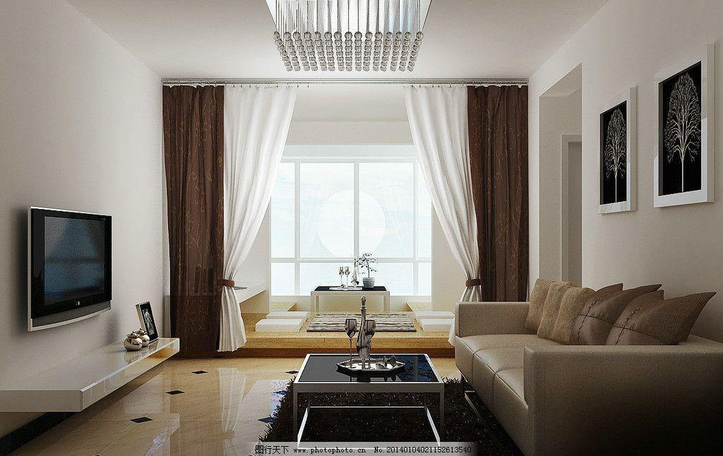 室内 简装效果图 简装        3d效果图 简约大方 3d作品 3d设计 设计