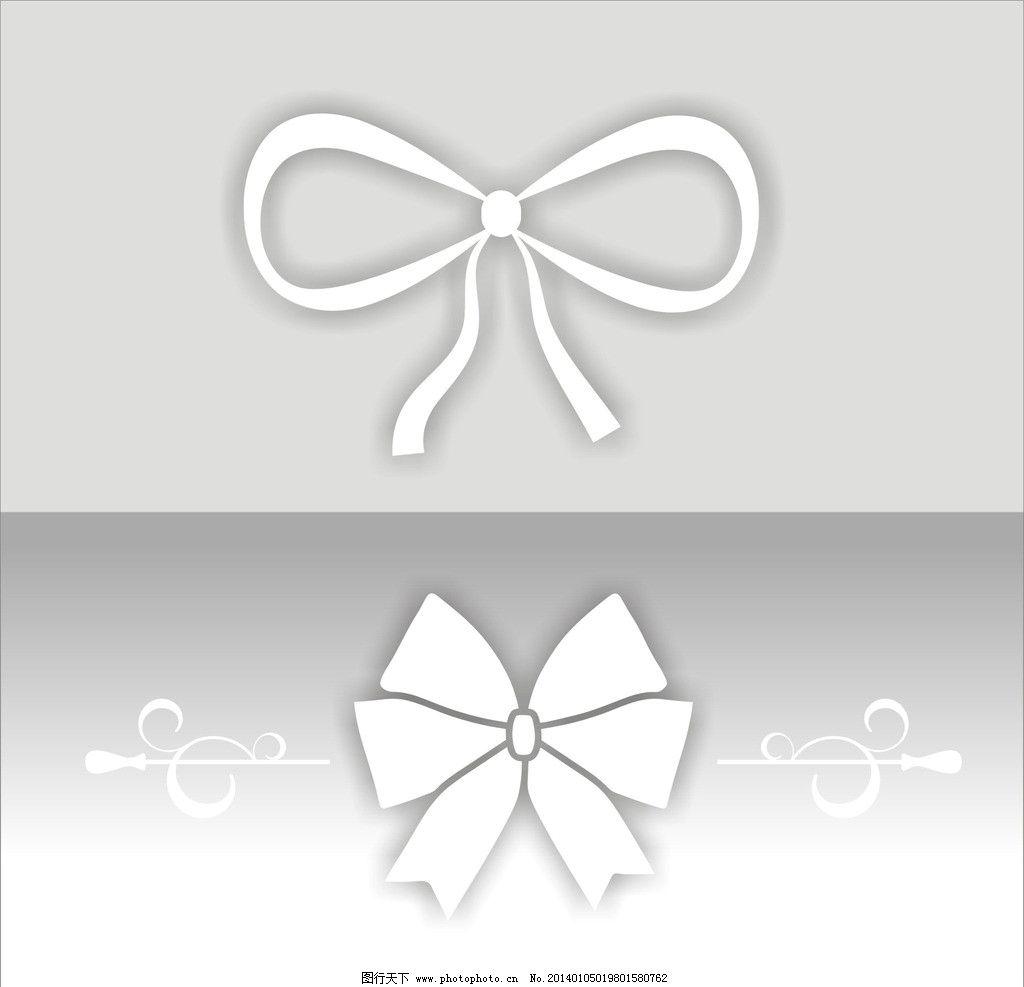 蝴蝶结 图案 背景 素材 设计 公共标识标志 标识标志图标 矢量 cdr