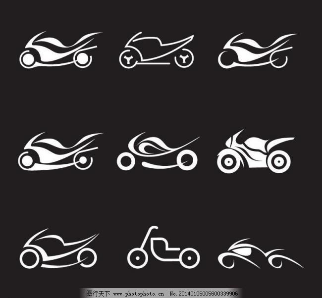 摩托车logo图片_建筑家居