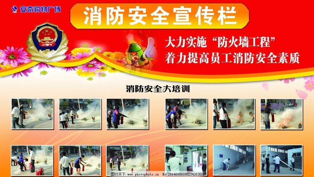 消防安全宣传栏图片