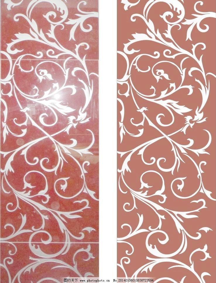 彩雕玻璃 窗花 底纹边框 雕刻 隔断 工艺玻璃 古典花纹 通花 欧式花纹