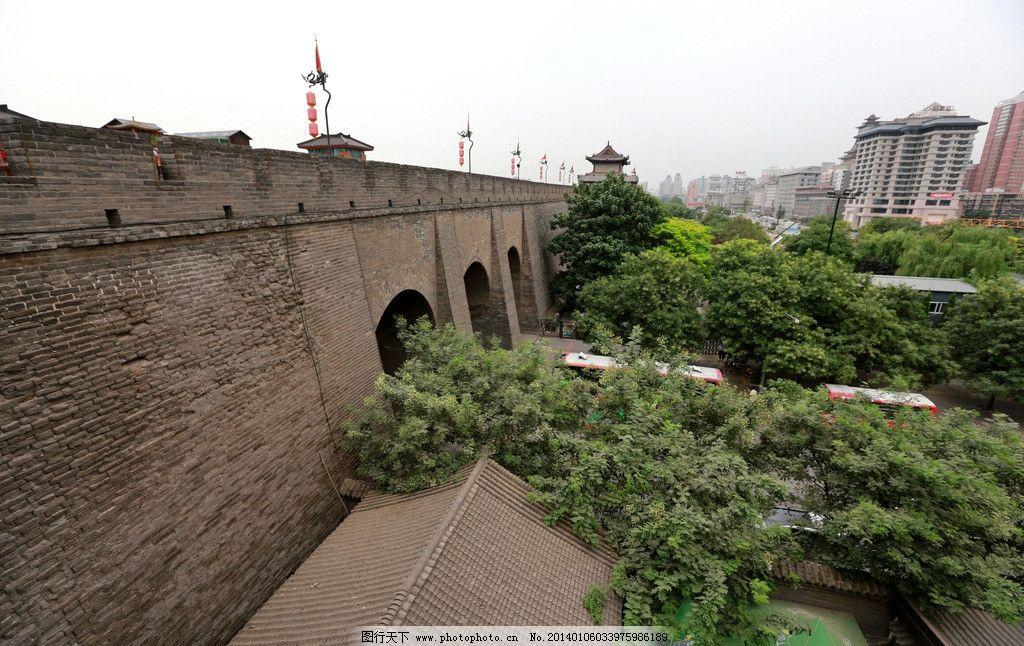 西安古城墙/西安古城墙图片