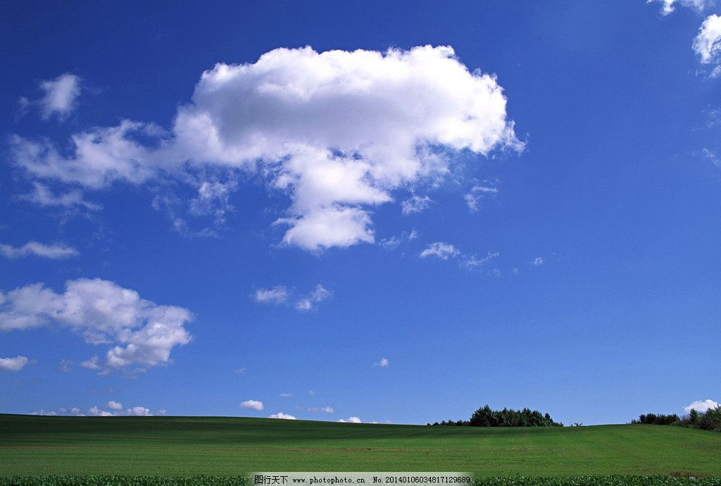 白云 自然风景图片