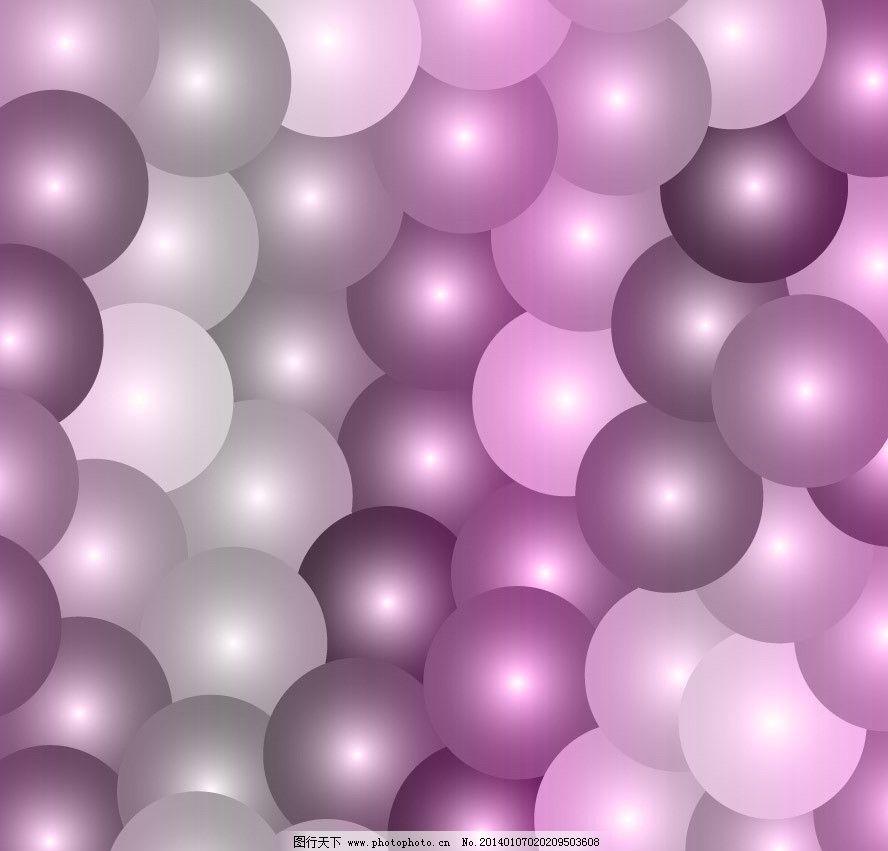 3d球体背景图片