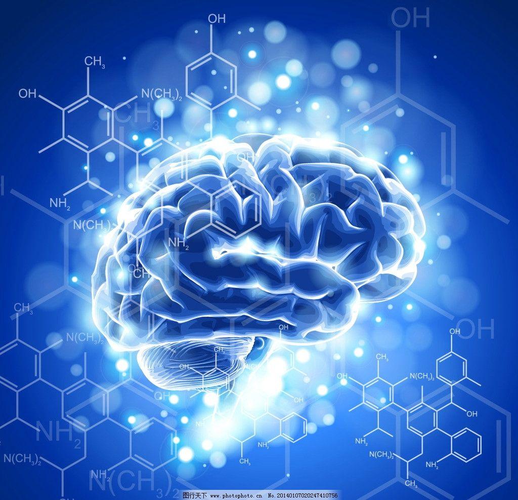 医疗背景 数卡片 大脑 分子结构 器材 医学 手绘 医疗保健 生活百科