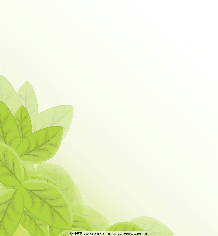 生态 手绘 时尚 梦幻 背景 绿色环保背景矢量 底纹背景 底纹边框 矢量