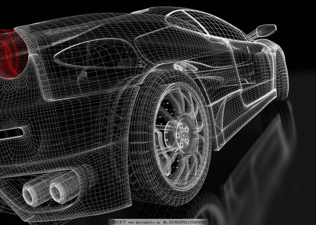 汽车设计 汽车 设计 手绘 3d 汽车透视 创意设计 线框图 透视 汽车