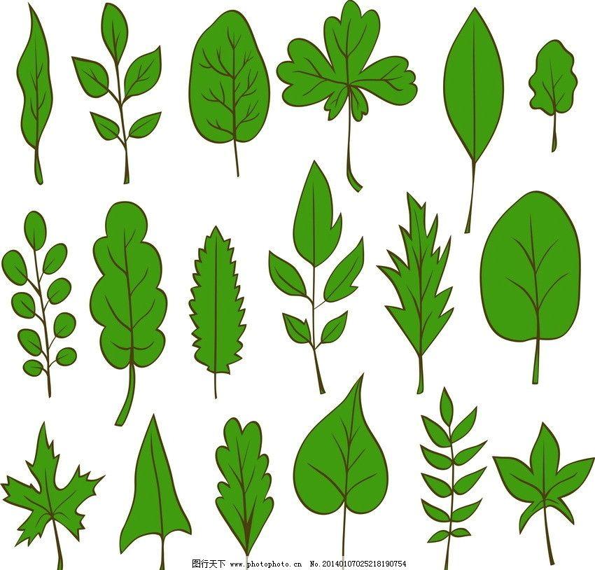 绿叶 绿色 环保 环保背景 环保素材 绿色环保 生态 手绘 时尚