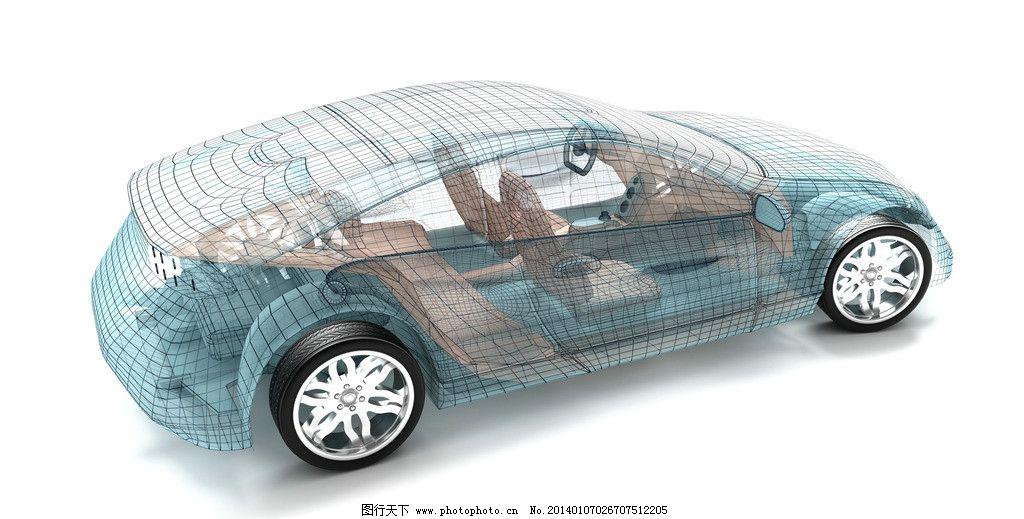 汽车结构设计图图片
