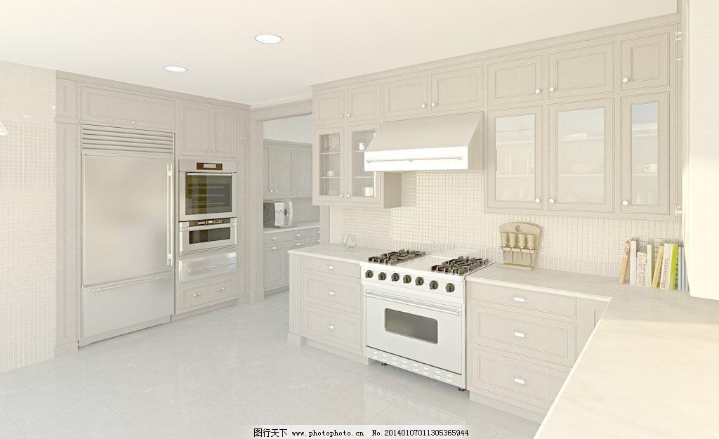 厨房图片_室内设计_装饰素材_图行天下图库