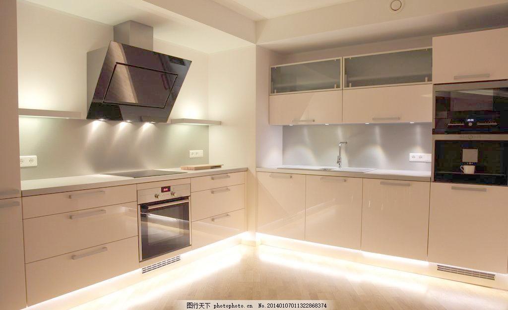 室内设计  300dpi jpg 吧台 别墅 冰箱 餐具 餐厅 餐桌 抽油烟机 厨房