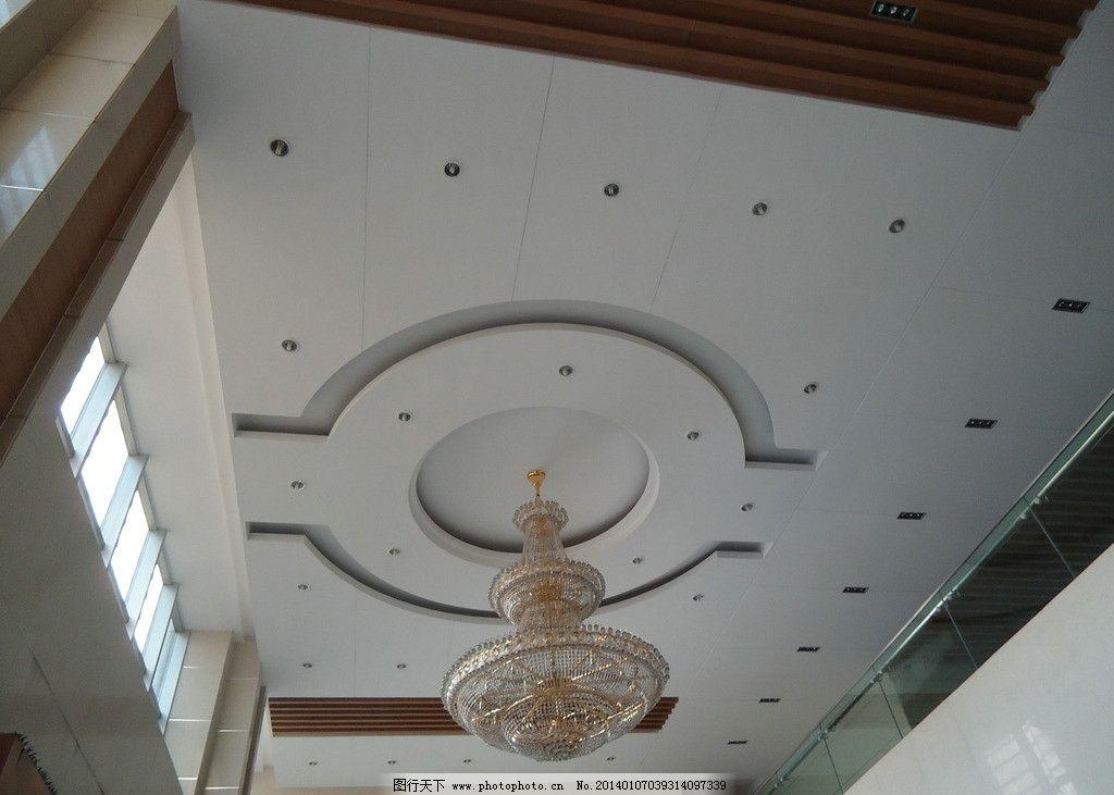 天花板 灯 玻璃灯 吊顶 窗户 圆 金色 房顶 室内摄影 建筑园林 摄影