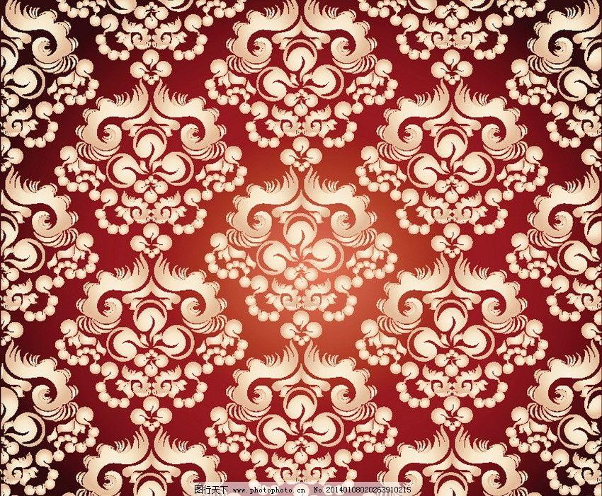 欧式花纹壁布分享展示