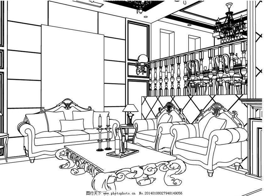 客厅设计      沙发 室内设计