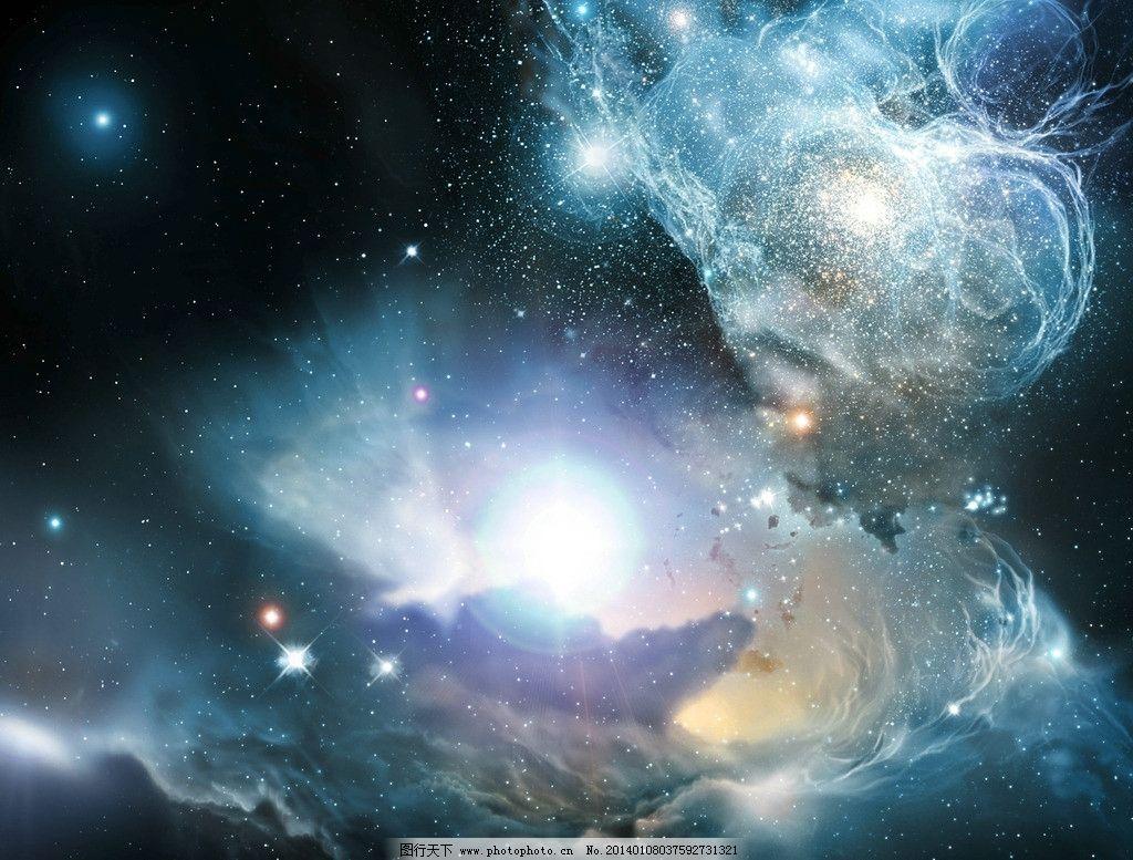 太空 宇宙 浩瀚 星空 天空 航空 星球 科幻 背景 深邃 风景漫画 动漫