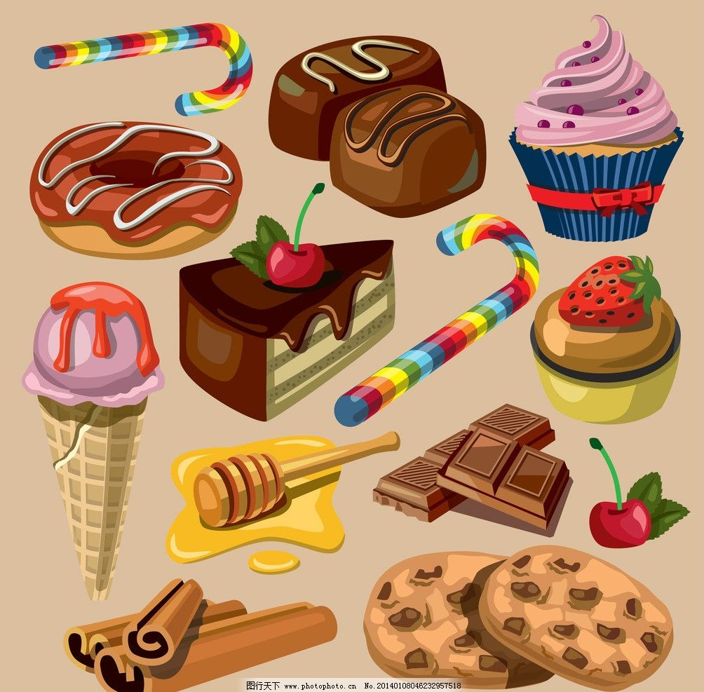 巧克力蛋糕 巧克力饼干