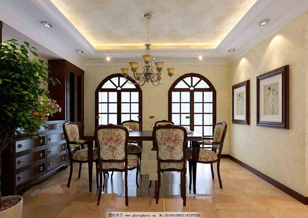 室内效果图 装潢 现代 欧式 简洁 古典 室内模型 源文件 卧室