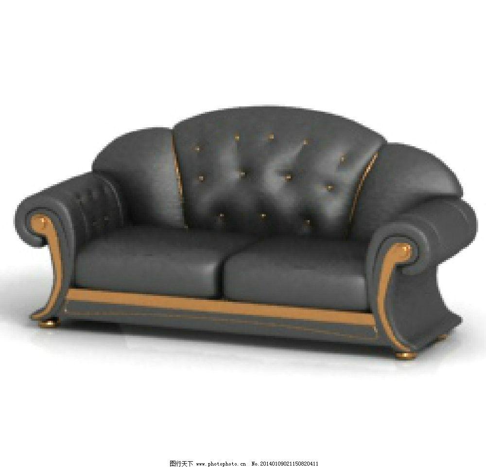 欧式沙发图片_3d作品设计