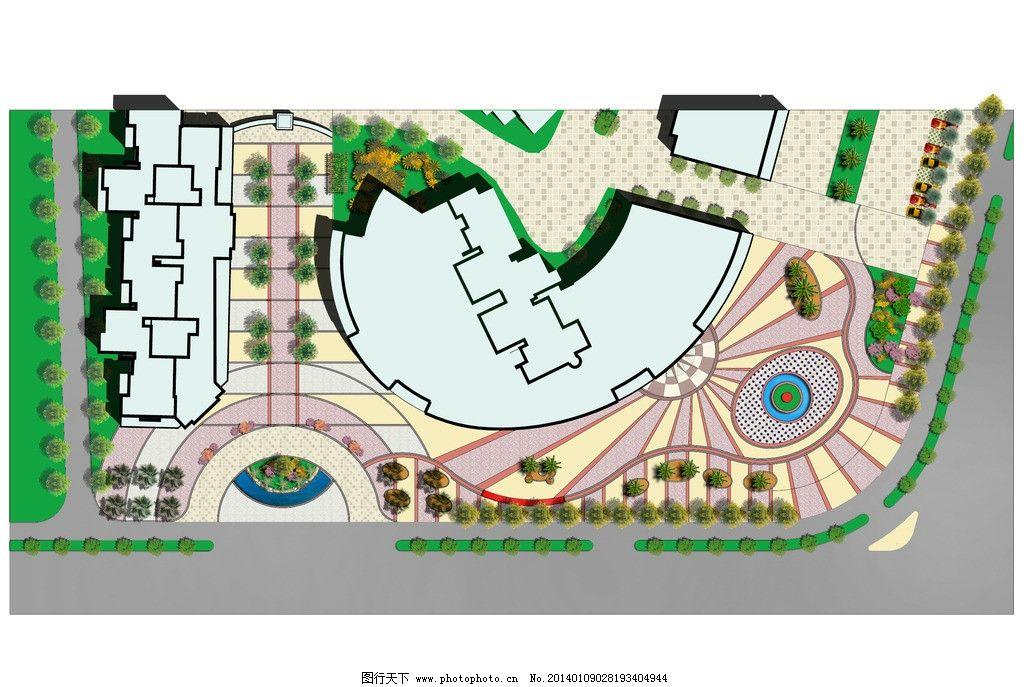 平面图 商业街 小区 总平面图 设计 方案 景观 景观设计 环境设计 120