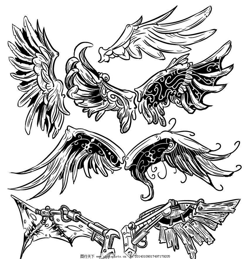 翅膀图片_游戏界面_ui界面设计_图行天下图库