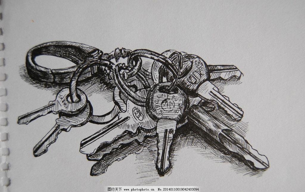 碳素笔绘画图片