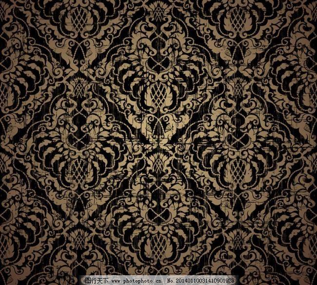 古典 古典底纹 古典花边 古典花纹 贵族 欧式花纹背景矢量素材 欧式