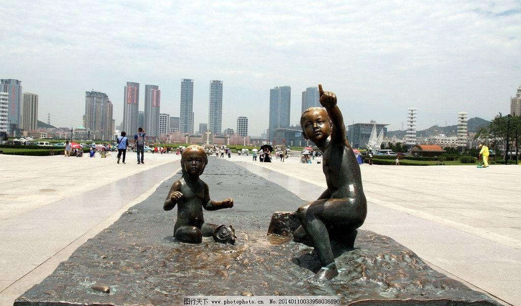 大连星海广场 风景图片素材 旅游摄影 大连风光 星海广场 大连建市