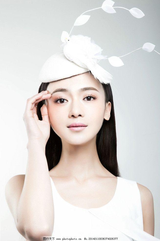 吴谨言 明星 美女 青年演员 北京电影学院 烽火佳人 摄影图库图片
