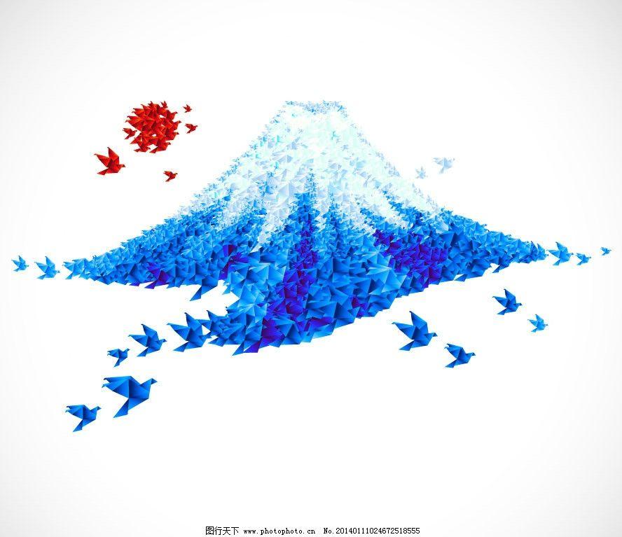 千纸鹤简单手绘图