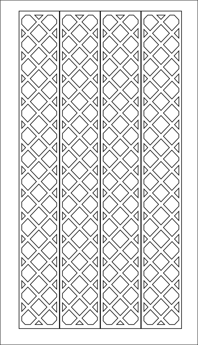 方格雕花板 方格雕花板免费下载 镂空花 装修 原始尺寸 矢量图
