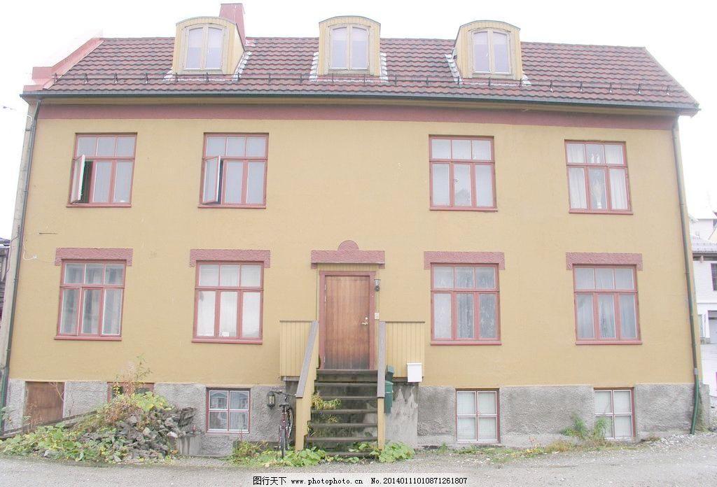 欧式房子图片