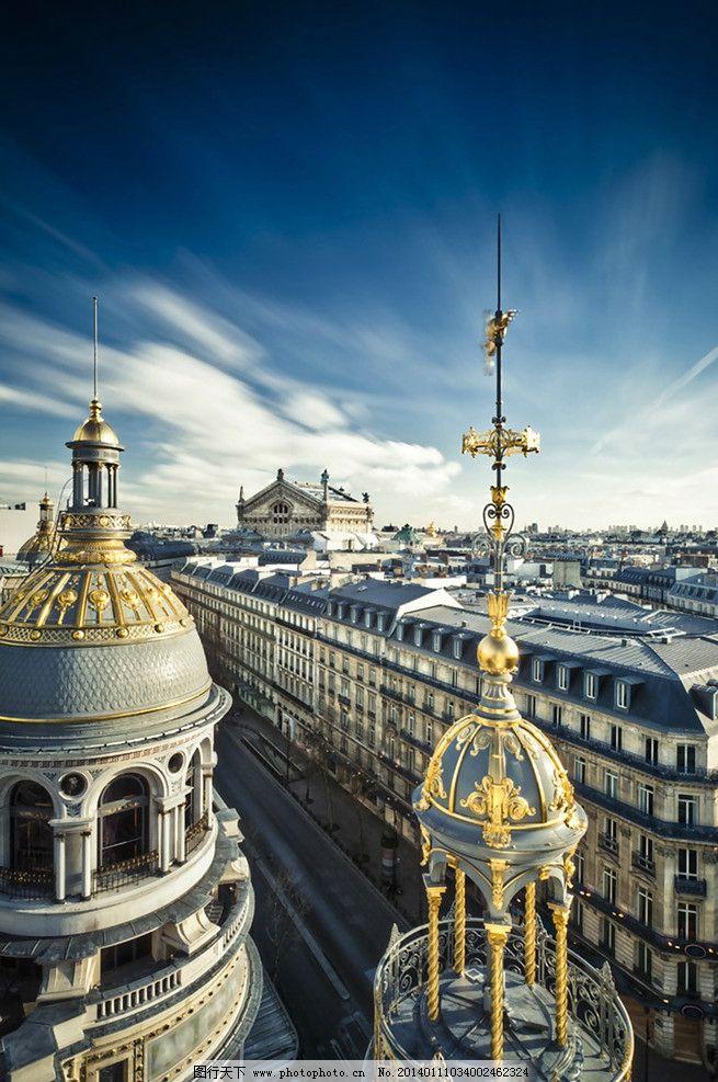 欧式奢华建筑 城堡 城市