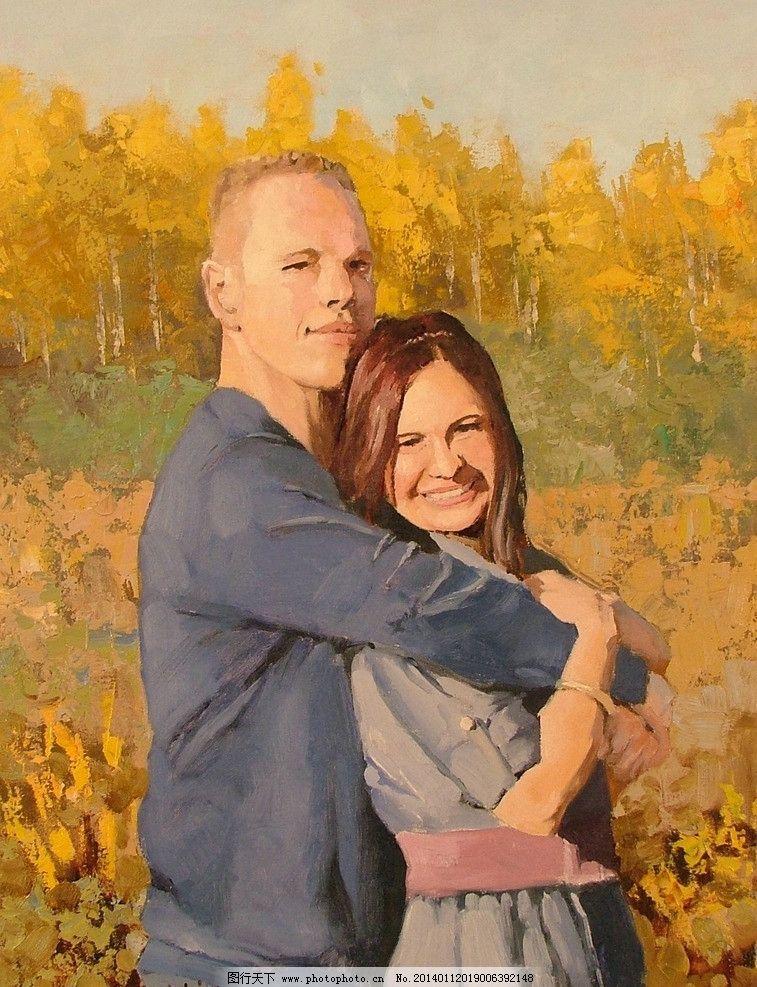 人物油画绘画 美术 人物画 西方油画 油画艺术 当代绘画艺术 绘画书法