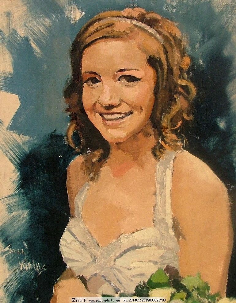 人物油画绘画 美术 油画 人物画 西方油画 油画艺术 美女 当代绘画