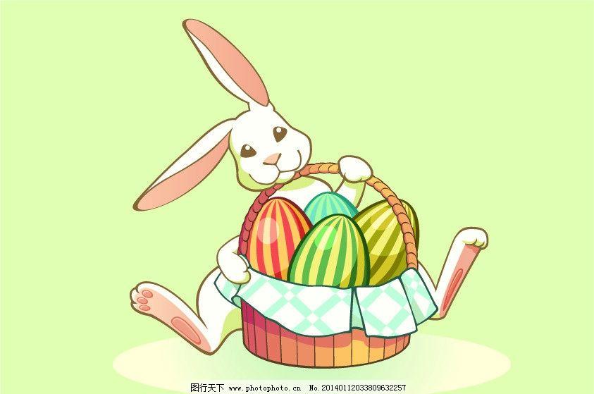 动脑拼动物 小白兔