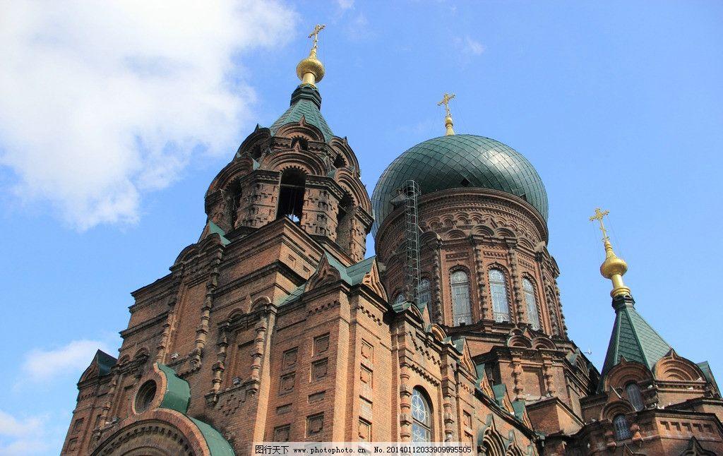 索菲亚教堂 索菲亚 教堂 屋顶 欧式建筑 哈尔滨 国内旅游 旅游摄影 摄
